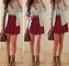 Outfits... timberland.
