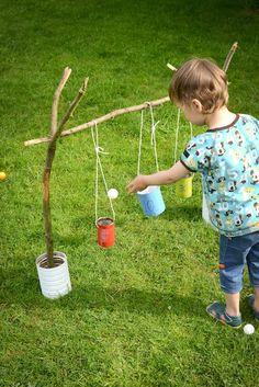 DIY Blik : Blitse Blikkenvangers buitenspel voor kids :