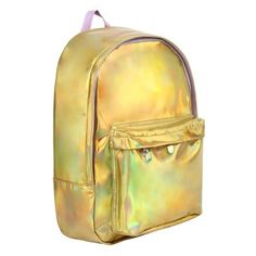 Gold iridescent classic backpack - NEW - Gift Ideas - New In
