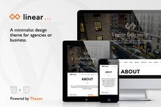 Linear - Onepage Wordpress Theme by Thezoc on Creative Market