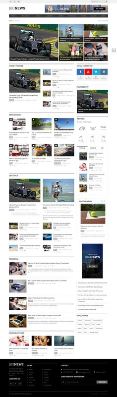 50 best hottest magazine themes to make your site go viral