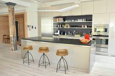 loft style kitchen cabinet   Greenstreet Inc.