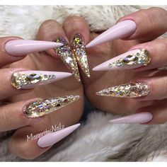 ✨⚜✨ Nude and gold @vetro_usa #nails #nailart #MargaritasNailz #stilettonails #vetrousa #nailfashion #vetrogel #longnails #ombrenails #naildesign #nailswag #hairandnailfashion #nailedit #teamvalentino #nudenails #nailprodigy #nailpromagazine #glitternails #goldnails #hudabeauty #nailsofinstagram #nailaddict #nailstagram #nailporn #nailtech #nailsoftheday #nailedit #nailsmagazine #nailpro #nails2inspire #nailitdaily