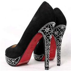 Love these heels.  Something I would never wear or buy.  I need somebody to dress :-)