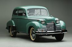1950 Opel Olympia Allemand 1.5L 4-cylinder OHV engine