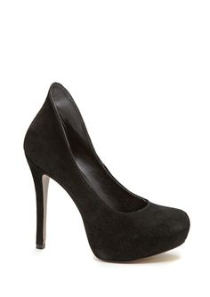 Steve Madden Pumps. I don't Know why this heel design hasn't caught on more. I think it is a brilliant idea. Gets red if the chafed and bleeding spot that most girls get after a night out. No more band-aids... No more blisters...