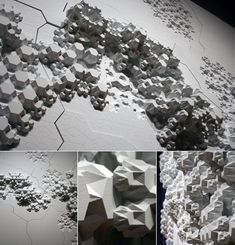 Project 'Rules of Six' architects Aranda & Lasch envision an unpredictable, self-generating landscape of interlocking hexagons…
