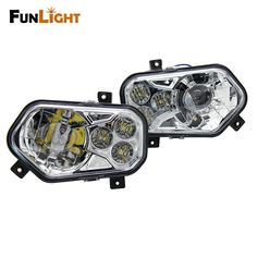151.99$  Watch now - http://aliov8.worldwells.pw/go.php?t=32787316720 - 2017 New Product Polaris ATV LED Headlight Kit For 2008-2014 Polaris RZR S 800 / for 2012-2013 Sportsman RZR 800 900 570 151.99$