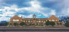 - Castaneda Hotel - Las Vegas - New Mexico- The Castañeda was built in 1898 and was Fred Harvey's first trackside hotel – the beginning of America's first hospitality empire.