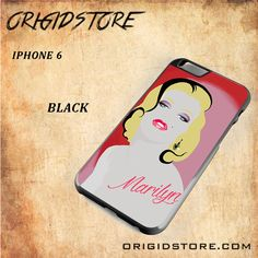 Marilyn Monroe Snap on 2D Black and White Or 3D Suitable With Image For Iphone 6 Case