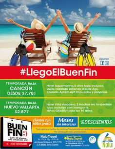 ¡Aprovecha el #BuenFin y viaja!