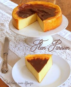 Flan pâtissier sans pâte de christophe michalak Flan pastry without dough christophe michalak Crockpot Recipes For Two, Pie Recipes, Sweet Recipes, Dessert Recipes, Homemade Hummingbird Food, Flan Dessert, Desserts With Biscuits, Homemade Pastries, French Pastries