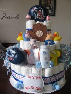 Detroit Diaper cake