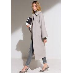 Пальто длинное, 80% шерсти LAURA CLEMENT - Верхняя одежда