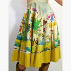 40's Kent Circle Skirt now featured on Fab.