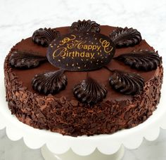 Beautiful happy birthday chocolate cake images lets you download the bundle of  High Quality wallpapers.we have got the best from the most pictures available here.All these wallpapers are for free and you do have option for different sixes and resolutions.Choose the best lovely good morning images with quotes for your computer and laptop. You can …
