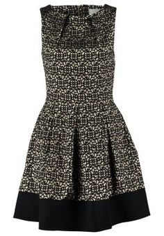 Cocktail dress / Party dress - gold/black