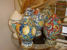 Caltagirone Pottery - Italy