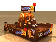 MARS Choco Festival designs 2012 by Mostafa Shehatta, via Behance