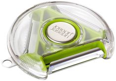 Joseph Joseph PEBG0100CB Rotary Vegetable Peeler with 3 Blades, Green #JosephJoseph