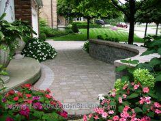 landscaping patios plantings retaining walls kitchener