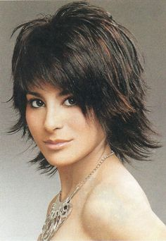 Messy Shaggy Hairstyles for Women | Shag Hairstyles , Short to Medium Shag Hairstyles , Short Haircuts ...