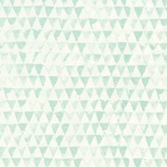 354082 Tout Petit behang mintgroene driehoekjes. Te vinden bij kwantum voor 17 euro per rol ook in het zwart wit! Interior Wallpaper, Wallpaper S, Big Girl Rooms, Boy Room, Doll House Wallpaper, Child And Child, Blue Bedroom, Kidsroom, Basic Colors
