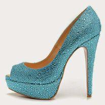 Fashion blue high shoes ,fish shoes sandals _High shoes_Fashion shoes_Mili fashion Trade Co. Rhinestone Shoes, Bling Shoes, Crystal Rhinestone, Blue Wedding Shoes, Crystal Shoes, High Shoes, Red Sole, Shoes Sandals, Heels