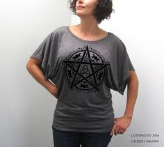 Check out our wiccan clothing selection for the very best in unique or custom, handmade pieces from our shops. Wiccan Clothing, Pagan Fashion, Witchy Outfit, Funny Tank Tops, Material Girls, Alternative Fashion, Dress To Impress, Wiccan Magic, Fancy Clothes