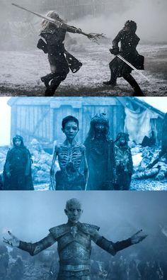 Evolución de los mejores efectos visuales en Game of Thrones