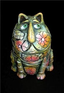 cat sculpture idea