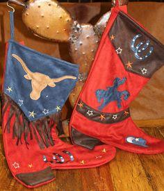 Cowboy Christmas Stockings