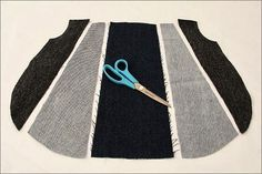 Do not want to put to use old jeans and sew fashionable handbag? Jeans can be completely different colors and shades. Denim Bag Patterns, Purse Patterns Free, Free Pattern, Old Jeans, Fabric Bags, Sewing Basics, Fashion Handbags, Diy Tutorial, Creations