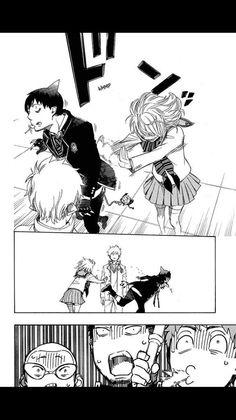 Manga Ao no Exorcist 83 Online - InManga Ao No Exorcist, Blue Exorcist Shiemi, Blue Exorcist Funny, Blue Exorcist Anime, Fullmetal Alchemist, Rin And Shiemi, Devil Part Timer, Maou Sama, Angel Of Death