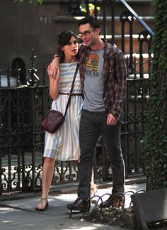 """Keira Knightley Photos Photos - """"Maroon 5"""" singer Adam Levine and actress Keira Knightley film 'Can A Song Save Your Life' in West Village, New York on June 29th, 2012. - Adam Levine Shoots """"Can a Song Save Your Life"""" with Keira Knightley"""