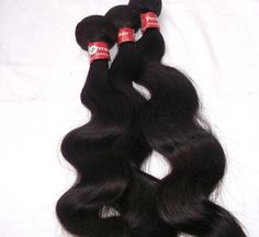 Peruvian Body Wave Human Hair Weave Grade 8A (3 Bundle) 16 18 20 inch  #AbsoluteBoutique #HairExtension