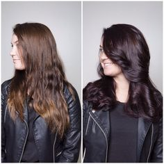 ChromaSilk + with 10 Volume Crème Developer. Chocolate Brown Hair Color, Chocolate Hair, Brown Hair Colors, Hair Colour, Work Hairstyles, Pretty Hairstyles, Pravana Hair Color, Hair Inspiration, Hair Inspo