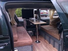 Zen Adventure Previa, Campers, Pop Tops, RVs and Adventure Vans Toyota Previa, Homemade Camper Van, T5 Bus, Camper Beds, Diy Camper, Fold Out Beds, Rv Camping Checklist, Best Family Cars, Campers