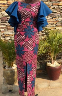 afrikanische kleider Latest Long Ankara Pencil Gown Styles For Ladies Ankara Long Gown Styles, Short African Dresses, Latest African Fashion Dresses, African Print Dresses, African Print Fashion, Ankara Gowns, Ankara Styles For Women, African American Fashion, Latest Ankara Styles