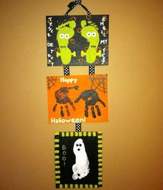 Kid's Halloween craft idea! Kim and Julie should do this
