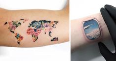 Travelers are constantly collecting passport stamps, coins, fridge magnets and photos from their journeys. Some, however, choose to honor their wanderlust with memorabilia that lasts longer - ink. Bored Panda has a compiled list of some of the best travel tattoos out there to give you some ideas if you're looking for alternative ways to immortalize your lust for new experiences.