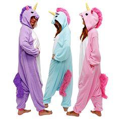 Unisex Adult Unicorn Onesies Pajamas