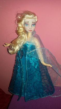 Elsa ooak repaint doll