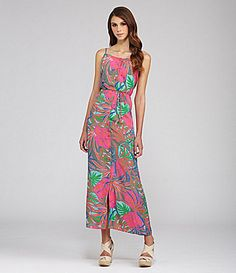31f5ce9e14c Collective Concepts Maldives Tropical-Print Maxi Dress