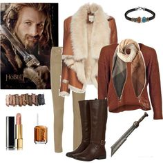 Prince Fíli - Closet Cosplay - The Hobbit - Tolkien by ginger-rogers on Polyvore featuring мода, Mason by Michelle Mason, Helmut Lang, Platadepalo, Paul Smith, Chanel, Urban Decay and Essie