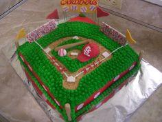 Team Baseball Cake