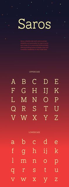 Saros Free Font on Behance
