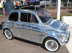 Fiat 500 music car