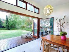 skillion roof, clerestory windows