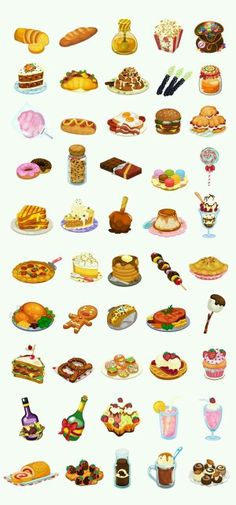 Food... '_' even food in anime version looks yummy